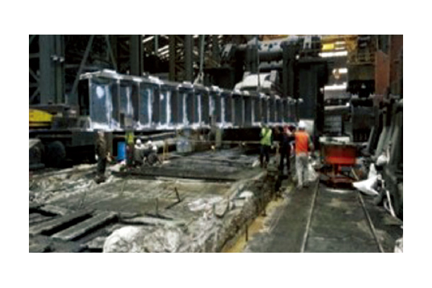 10 Thousand Ton Press Rail