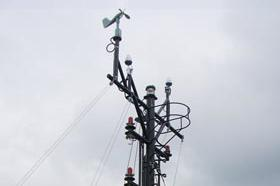 Telescopic Radar & Light Post