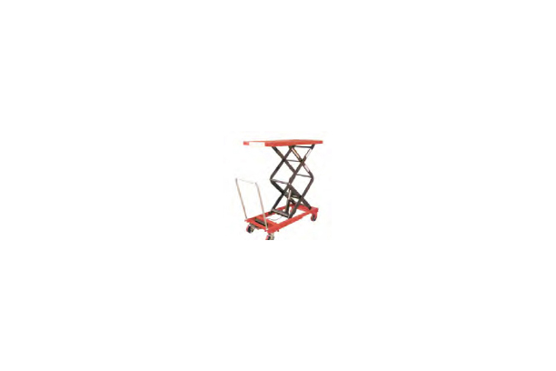 Scissors lift table