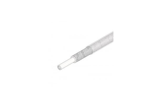 실리콘 고무절연 유리섬유편조 튜브