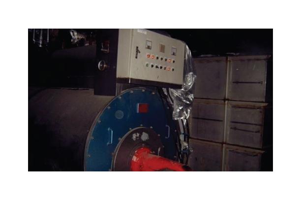 Steam Boiler, Circulation tank, Hot blower