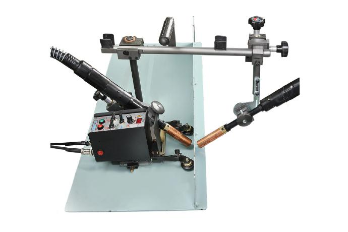 Fillet Stitch and Continuous Dual side welder, Light weight