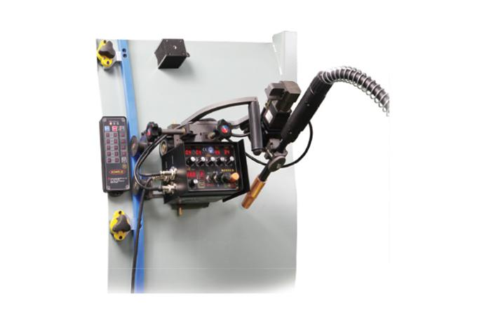 Fillet/Butt Multi Curved(3D) welder with Flexible guide rail