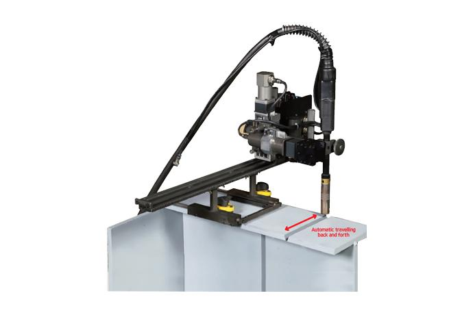 Butt/Fillet Weaving Welder with automatic travelling back and forth