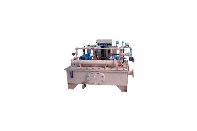 Water Cooled or Air Cooled Lube Oil Unit