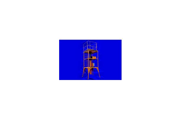 승강 작업용 타워