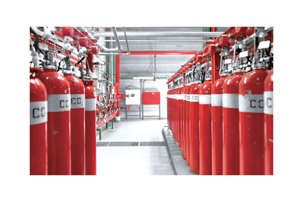HIGH PRESSURE FIXED CO2 FIRE EXTINGUISHING SYSTEM