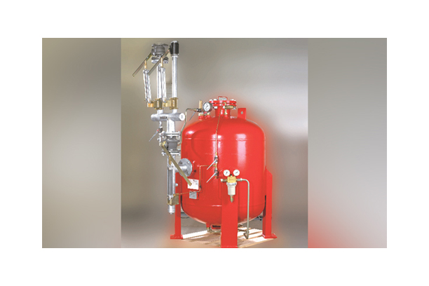 DRY CHEMICAL POWDER SYSTEM