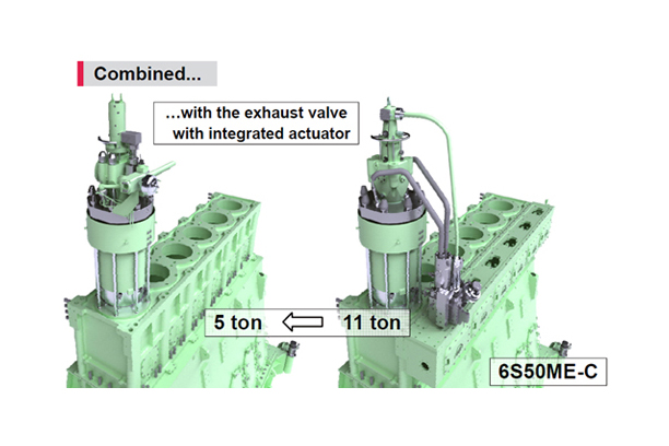 TOP CONTROLLED EXHAUST VALVE