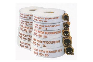 Fire Hose With Couplings