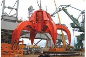 Motor Hydraulic Orange Grab