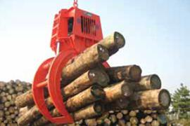 Engine Hydraulic Wood Grab / Motor Hydraulic Wood Grab
