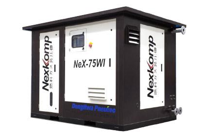 Gas compressor series