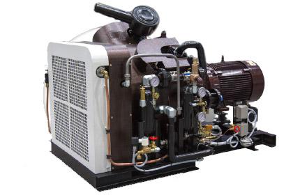 Air-cooled Piston Compressor