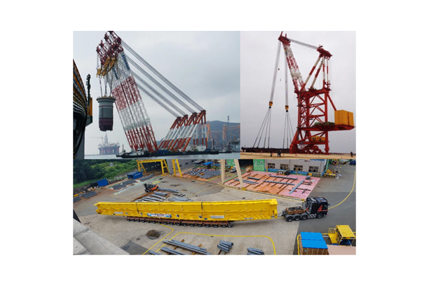 Industrial Crane (Shipyard / Plant / Nuclear Power Plant)