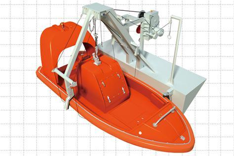 A-Frame Rescue Boat Davit