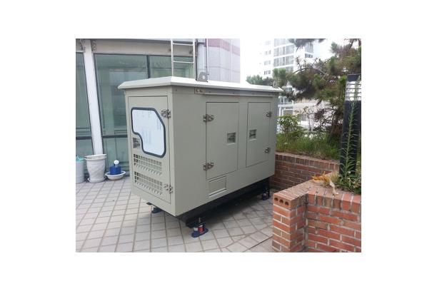 Bonnet type generator sets
