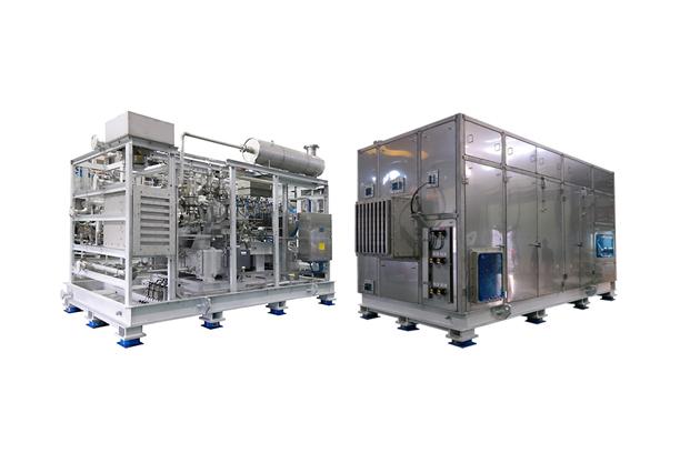 Air Cooled Centrifugal Air Compressor / 75dBA Quiet Enclosure