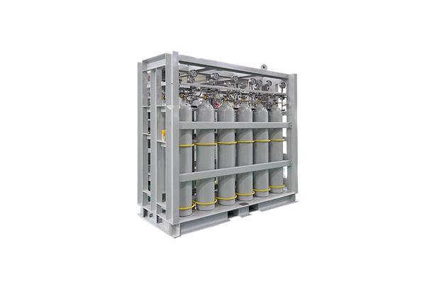 Nitrogen Gas Bottle Rack (Air & Gas Bottle Racks)