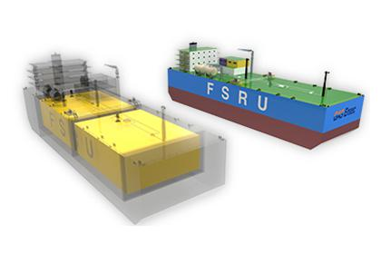 LNG Floating Storage & Regasification Unit (FSRU)