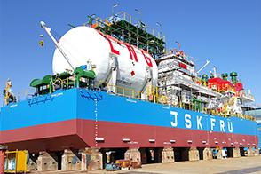 LNG Floating Regasification Unit (FRU)