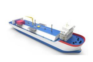 LNG Bunkering Ship