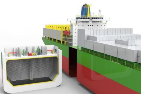 LNG Fuel Tank Application