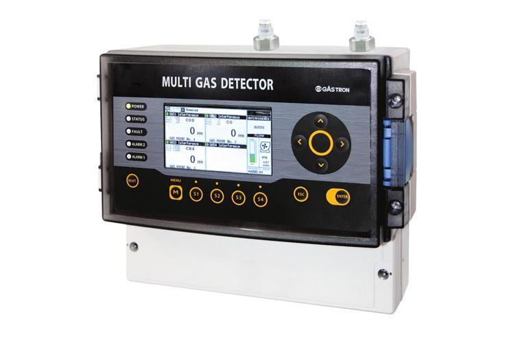 흡입식 가연성, 산소&독성 Multi(4) 가스감지기