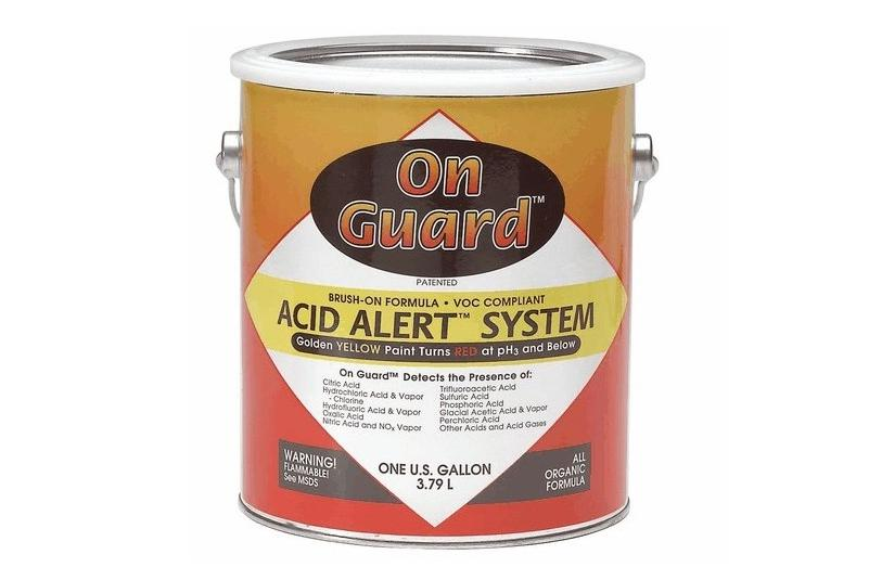 Acid Leak Detection Paint