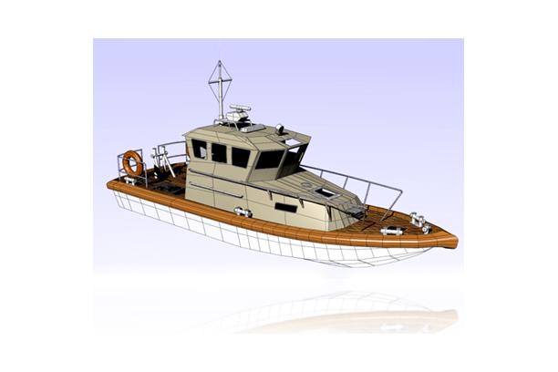 Electric Patrol Boat