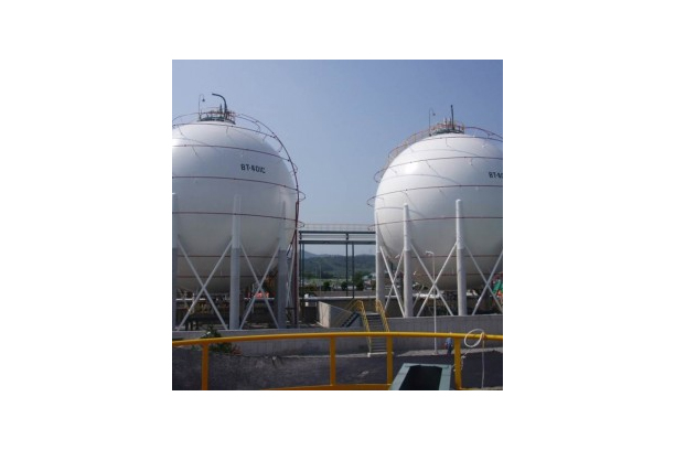 BALL TYPE STORAGE TANK