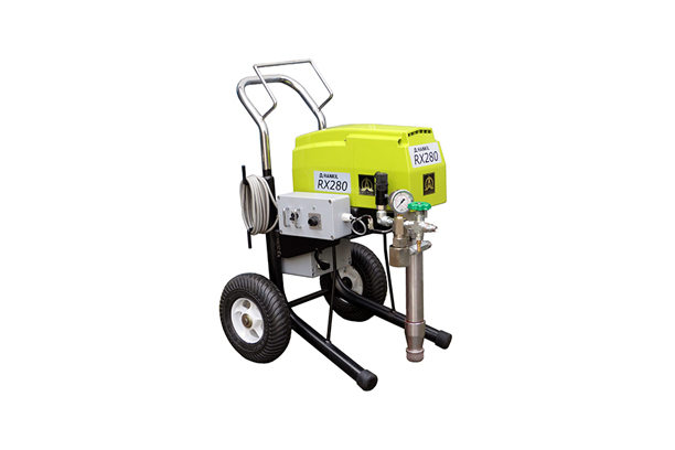 Electronical fire-proof paint airless paint spraying equipment