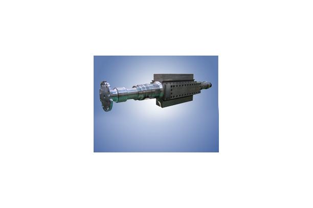 Turbine generator shaft