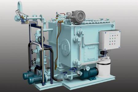 Vacuum Type Sewage Treatment System