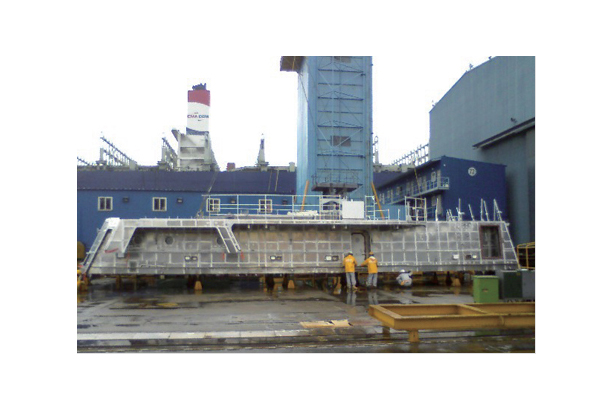 PC-300TON DECK HOUSE (ALUMINUM)