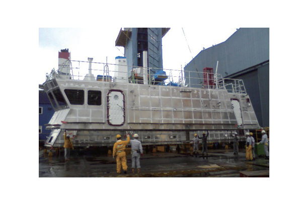 PC-500TON DECK HOUSE (ALUMINUM)