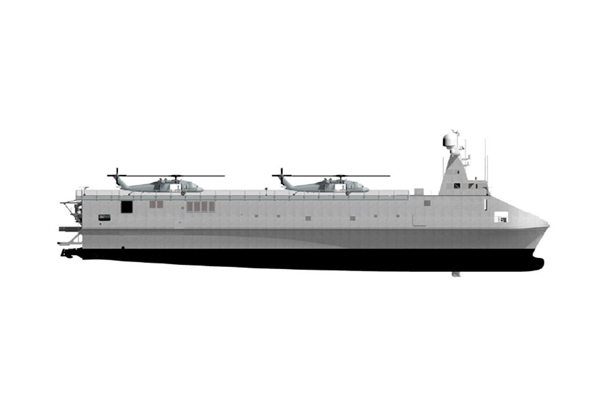 60M Class Aluminum Development of High Speed Special Support Ship