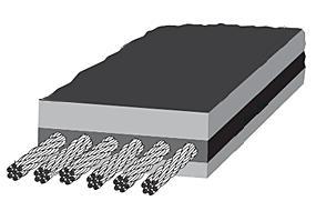 스틸코드 컨베이어 벨트