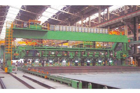 Stifferner (Longi) Fit-up Machine