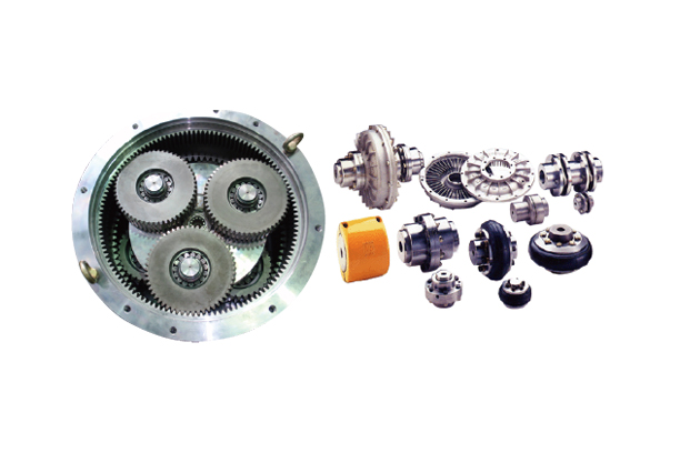 COUPLING AND VARIOUS GEAR