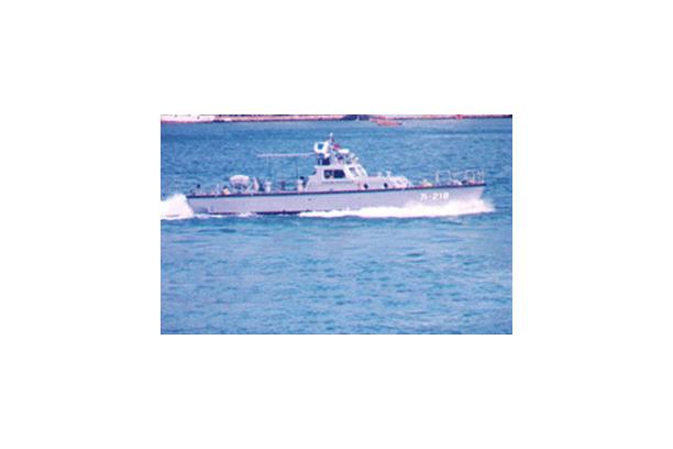 FRP선 (16M급 항만경비정)
