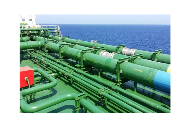 LNG SHIP CARGO PIPE INSULATION