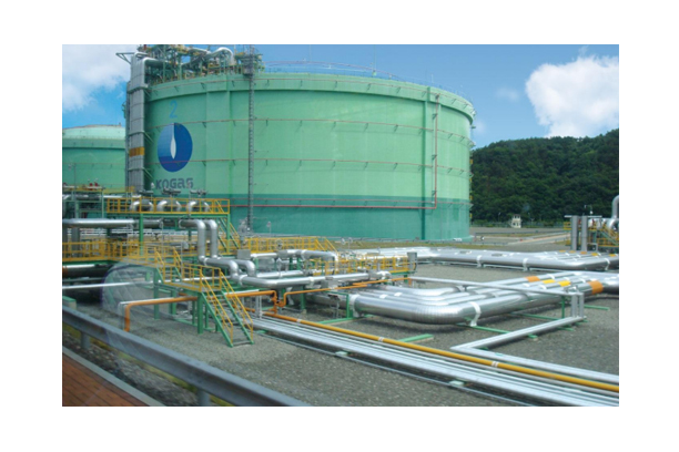 LNG RECEIVING TERMINAL TANK & PIPE INSULATION