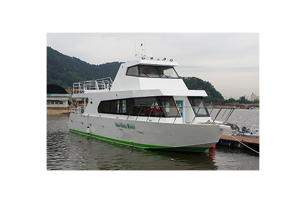 Fuel cell Leisure Vessel