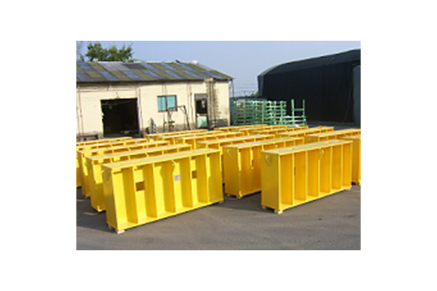 STEEL SKID FOR BED PLATE