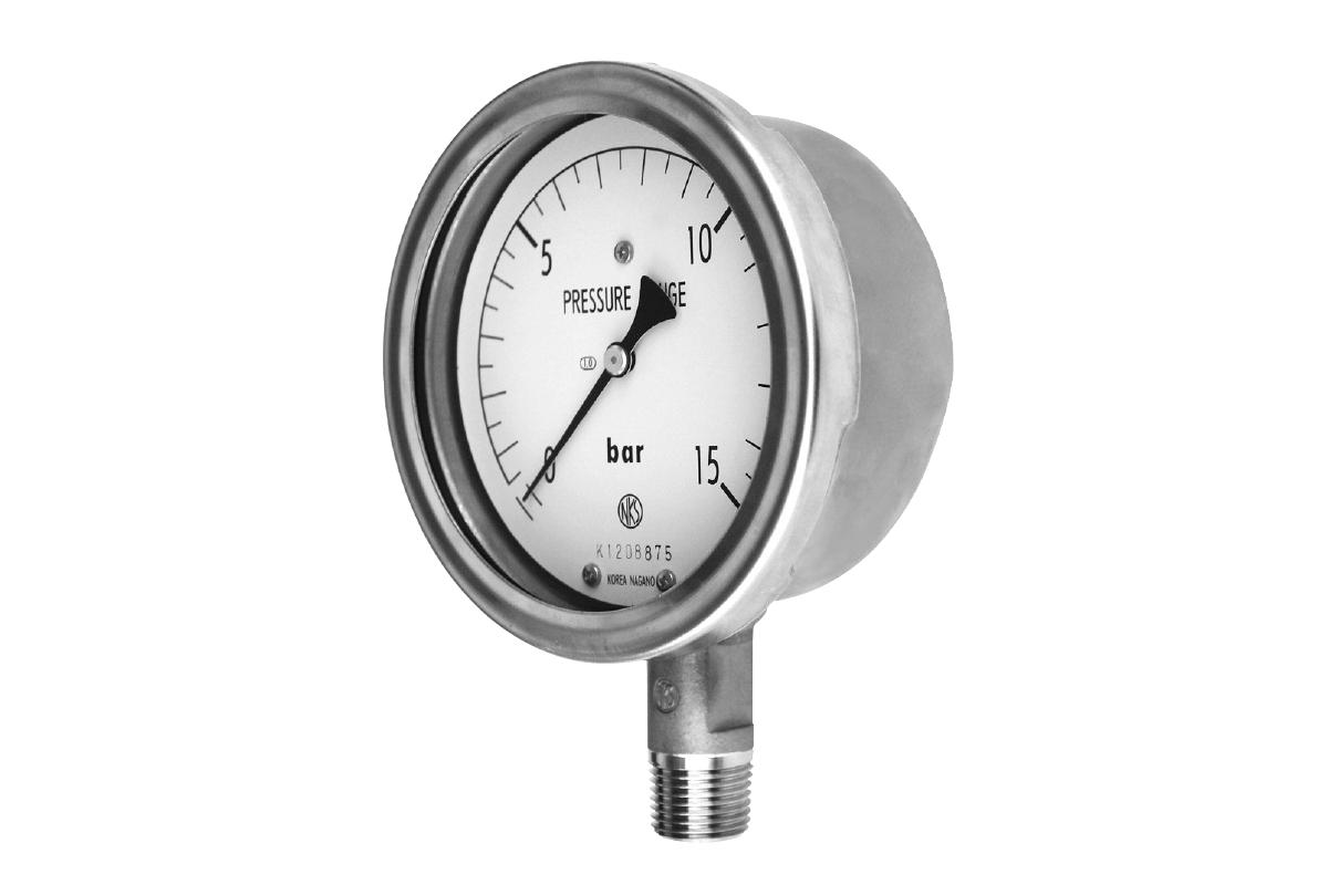 DRY TYPE - Stainless Steel Pressure Gauge