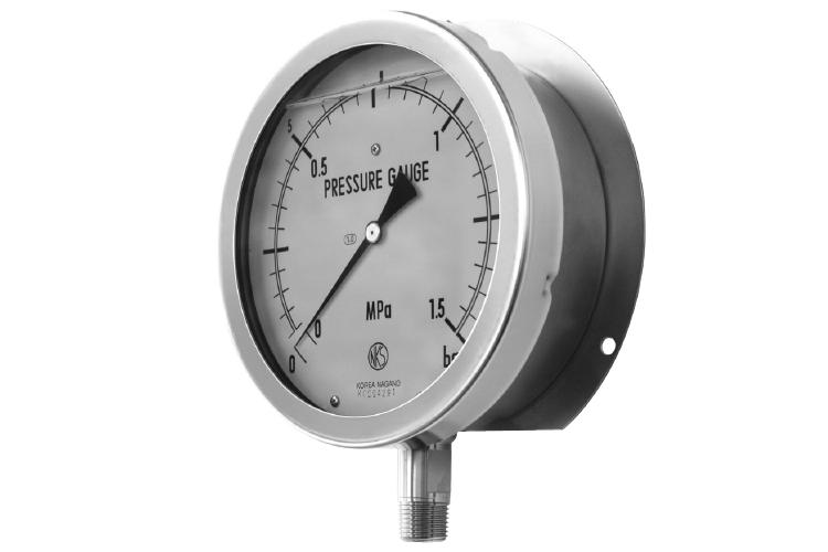 Liquid Filled Type - Stainless Steel Pressure Gauge