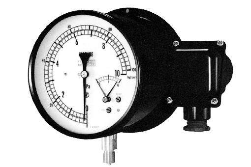 Pressure Gauge with Electric Contact (Micro Switch Type)
