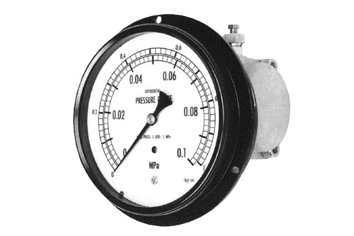 Differential Pressure Gauge With Micro Switch