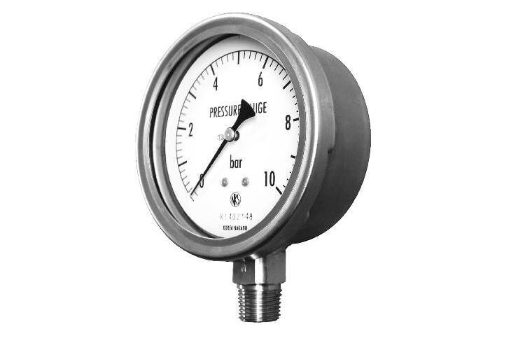 Dry Type - Solid front Pressure Gauge